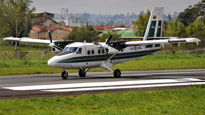 PNC-0201 - De Havilland Canada DHC-6-300 Twin Otter - Colombia - Police
