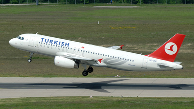 TC-JPC - Airbus A320-232 - Turkish Airlines
