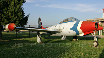 10501 - Republic RF-84G Thunderflash - Yugoslavia - Air Force