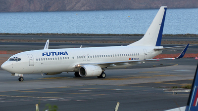 EC-KIN - Boeing 737-86N - Futura International Airways