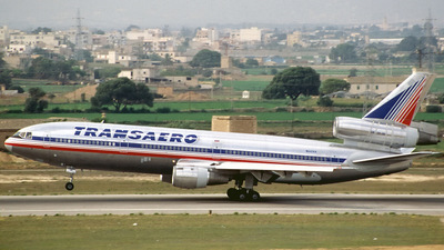N142AA - McDonnell Douglas DC-10-30 - Transaero Airlines