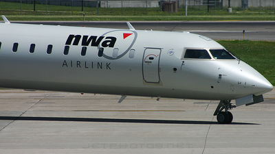 N901XJ - Bombardier CRJ-900LR - Northwest Airlink (Mesaba Airlines)