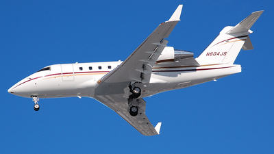 N604JS - Bombardier CL-600-2B16 Challenger 604 - Private