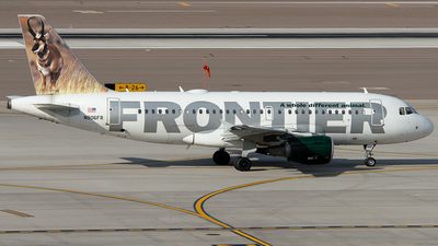 N906FR - Airbus A319-111 - Frontier Airlines