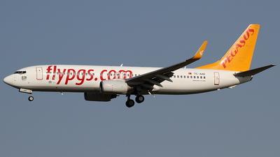 TC-AAE - Boeing 737-82R - Pegasus Airlines