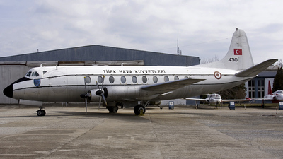 430 - Vickers Viscount 794D - Turkey - Air Force