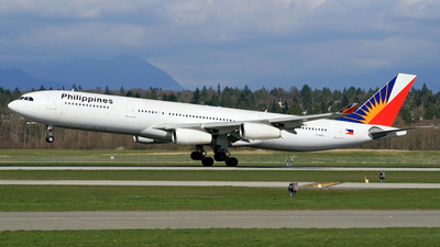 F-OHPJ - Airbus A340-313X - Philippine Airlines