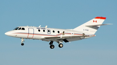 A picture of CFIGD - DassaultMystere Falcon 20 - [109] - © S.A.Kelly