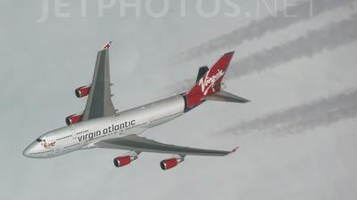 - Boeing 747-400 - Virgin Atlantic Airways