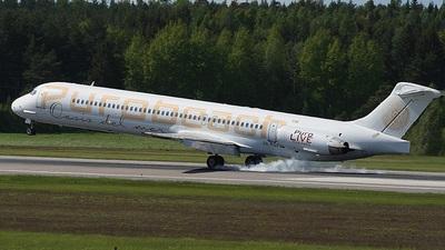 SE-RGP - McDonnell Douglas MD-83 - Nordic Leisure