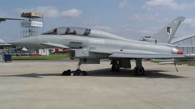 ZJ800 - Eurofighter Typhoon T.1A - United Kingdom - Royal Air Force (RAF)