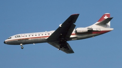 HB-ICN - Sud Aviation SE 210 Caravelle 10R - CTA