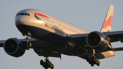 G-VIIW - Boeing 777-236(ER) - British Airways
