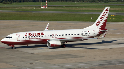 D-ABAU - Boeing 737-86J - Air Berlin