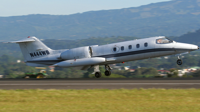 N444WB - Gates Learjet 35A - Private