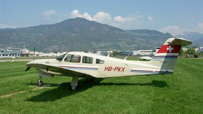 HB-PKX - Piper PA-28RT-201T Turbo Arrow IV - Segel und Motorfluggruppe Grenchen