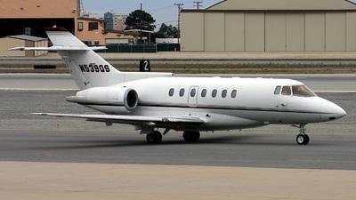 N539QS - British Aerospace BAe 125-1000A - Private