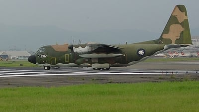 1317 - Lockheed C-130H Hercules - Taiwan - Air Force