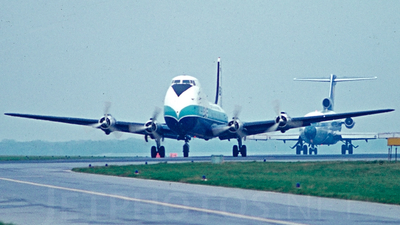 G-AXAI - Aviation Traders ATL-98 Carvair - British Air Ferries (BAF)
