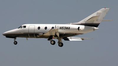N53WA - Dassault Falcon 10 - Motzart Development