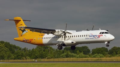 G-BWDB - ATR 72-202 - Aurigny Air Services