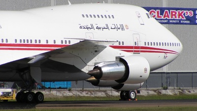A6-SMR - Boeing 747SP-31 - United Arab Emirates - Amiri Flight