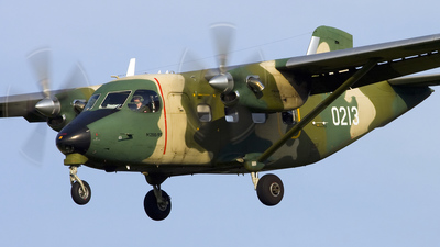 0213 - PZL-Mielec M-28B/PT Skytruck - Poland - Air Force
