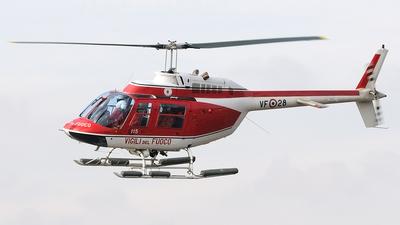 I-VFAP - Agusta-Bell AB-206B JetRanger III - Italy - Vigili del Fuoco