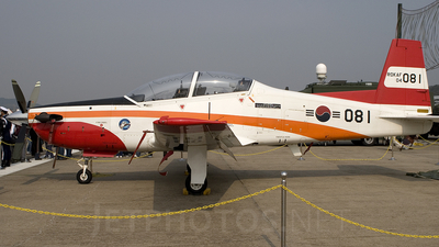 04-081 - KAI KT-1 Woong-Bee - South Korea - Air Force