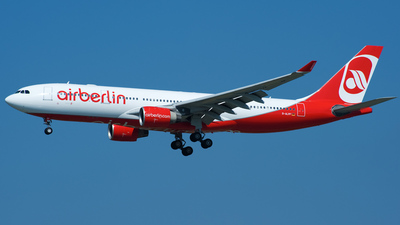 D-ALPF - Airbus A330-223 - Air Berlin (LTU)