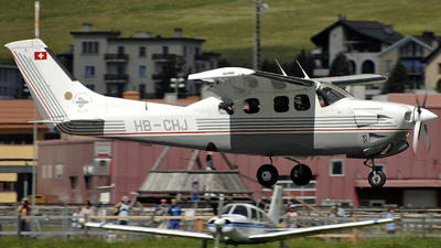 HB-CHJ - Cessna P210N Pressurized Centurion II - Motorfluggruppe Olten