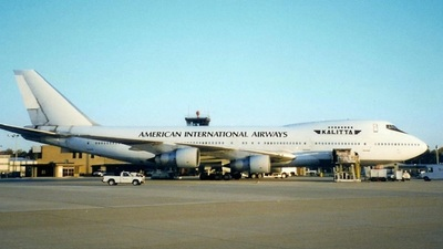 N625PL - Boeing 747-132(SF) - American International Airways (Kalitta)