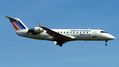 F-GRJR - Bombardier CRJ-100ER - Air France (Brit Air)
