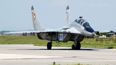 33 - Mikoyan-Gurevich MiG-29UB Fulcrum - Bulgaria - Air Force