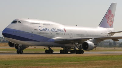 B-18202 - Boeing 747-409 - China Airlines
