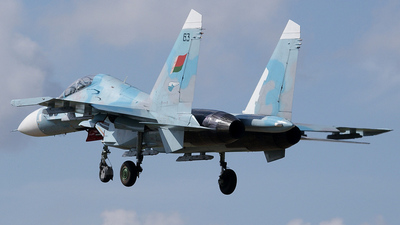 63 - Sukhoi Su-27UB Flanker C - Belarus - Air Force