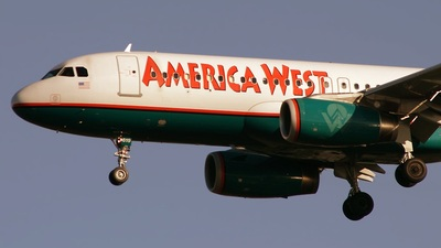 N619AW - Airbus A320-232 - America West Airlines