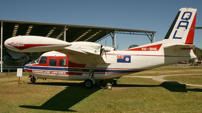 VH-BHK - Piaggio P-166DL3-SEM - Queensland Air Lines (QAL)