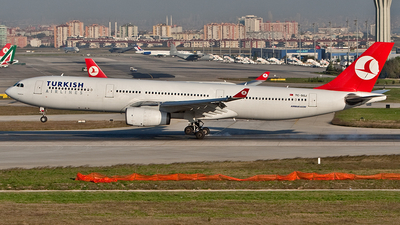 TC-SGJ - Airbus A330-343 - Turkish Airlines (Saga Airlines)