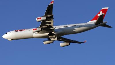HB-JML - Airbus A340-313X - Swiss