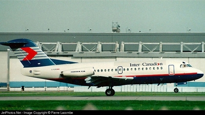 C-FCRI - Fokker F28-1000 Fellowship - Inter Canadian