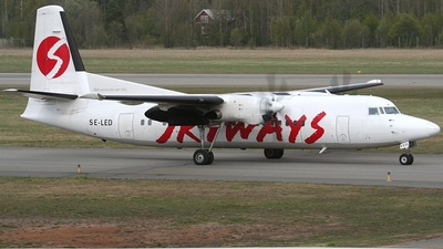 SE-LED - Fokker 50 - Skyways
