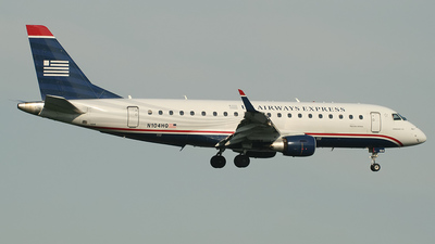 N104HQ - Embraer 170-200LR - US Airways Express (Republic Airlines)