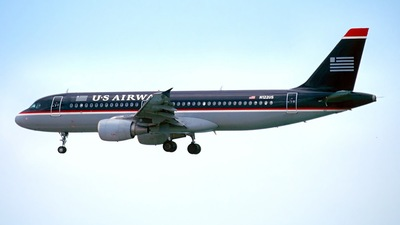 N122US - Airbus A320-214 - US Airways