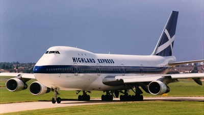 G-HIHO - Boeing 747-123 - Highland Express