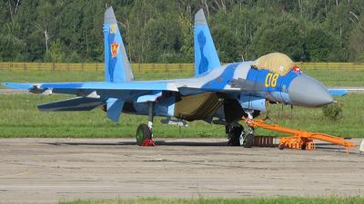 08 - Sukhoi Su-27 Flanker - Kazakhstan - Air Force