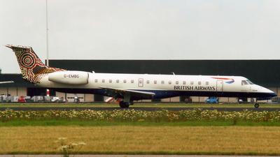 G-EMBG - Embraer ERJ-145EU - British Regional Airlines
