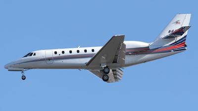 N44M - Cessna 650 Citation VII - Private