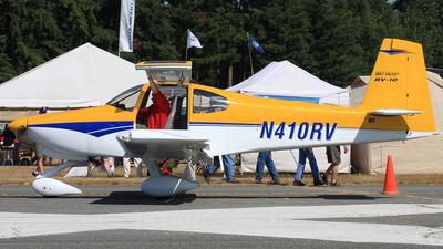 N410RV - Vans RV-10 - Private
