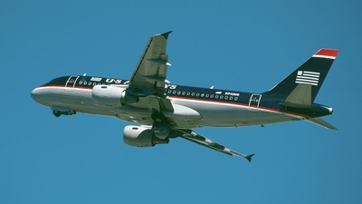 N742US - Airbus A319-112 - US Airways
